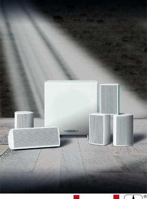 quadral Aluma 2200 5.1-Lautsprechersystem