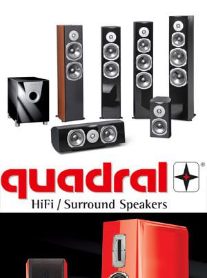 quadral Aurum Titan VIII Standlautsprecher und Ascent-Serie