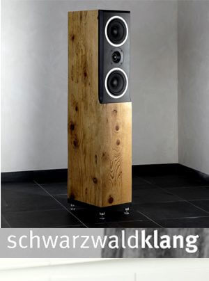 Schwarzwaldklang Gutach Standlautsprecher Wehra Kompaktlautsprecher