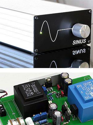 Klaus Hassler Audiokomponenten Netzteil Sinus für Thorens Plattenspieler 160 140 Baureihe