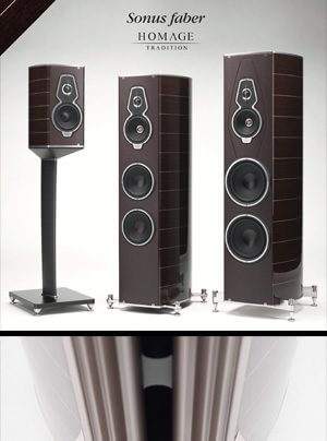 Sonus faber Homage Tradition - Amati, Guarneri, Serafino, Vox