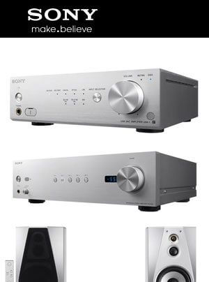 Sony High Resolution Audio Line-up