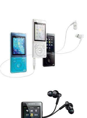 Sony Walkman neue Produktserie NWZ-E473KB/L, NWZ-E474B/G/L/P/R, NWZ-E574B/W/L, NWZ-E575BT, NWZ-S774BTB/L, NWZ-F805B, NWZ-F806B