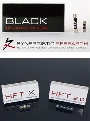 Synergistic Research Tuning mit Sicherungen HFT und MIG bei SoReal im Vertrieb