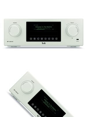 T + A MP 3100 HV Multi Source Player / DAC