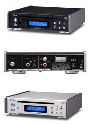 Teac PD-301-CD-Receiver, TN-570 und TN-550 Schallplattenspieler