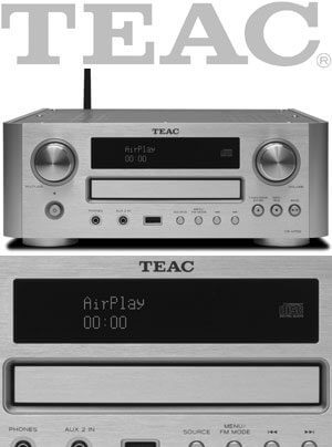 Teac CR-H700 CD-Receiver mit Airplay-Technologie