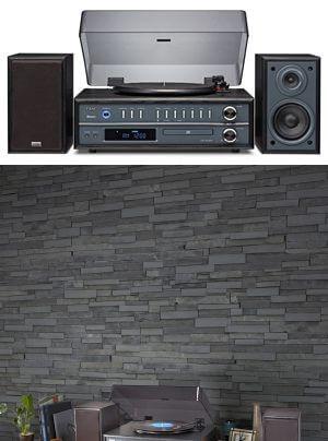 Teac LP-P1000 Kompaktanlage mit Plattenspieler