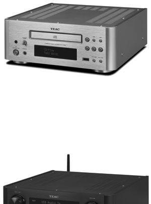Teac CD-H750 CD-Spieler, NP-H750 Vollverstärker, CR-H260i CD-Receiver