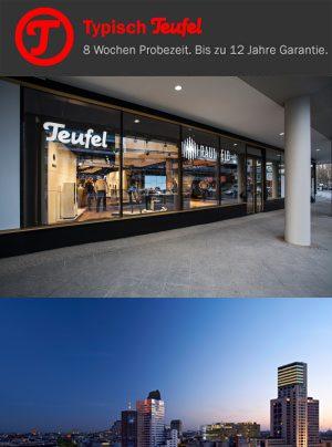 Teufel Flagship Store Eröffnungsparty 08. Mai 2014