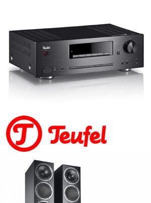 Teufel Kombo 500 CD-Receiver-Lautsprecher-Bundle