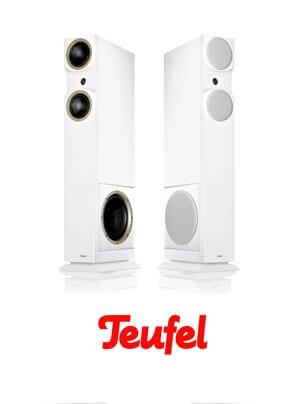 Teufel T6 Hybrid Standlautsprecher | Motiv B Bluetooth-Kompaktlautsprecher