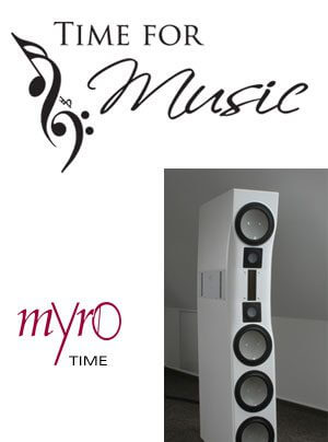 Time for Music Hör-Workshop mit Myro Time Lautsprecher bei HiFi Studio 15 in Ergoldsbach