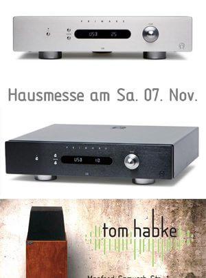 Tom Habke Hausmesse mit Primare, Larsen und Audioquest