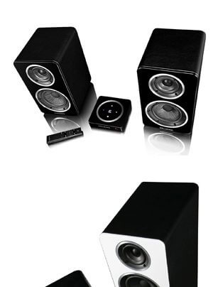 Wharfedale Diamond A1 Wireless-Kompaktbox und Diamond A2 Wireless-Standlautsprecher