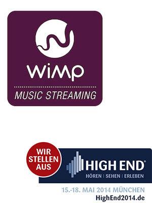 WiMP Lossless Streaming-Dienst auf der High End 2014